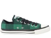 Bチェック2 OX ブラック/グリーン